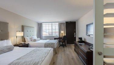Habitación estándar doble Hotel Krystal Satélite María Bárbara Tlalnepantla de Baz