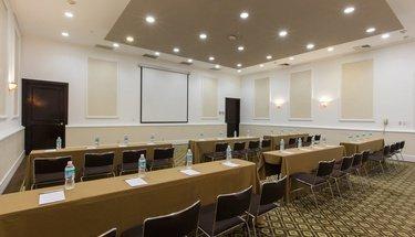 Sala de conferencias Hotel Krystal Satélite María Bárbara Tlalnepantla de Baz