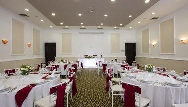 Salón de eventos Hotel Krystal Satélite María Bárbara Tlalnepantla de Baz